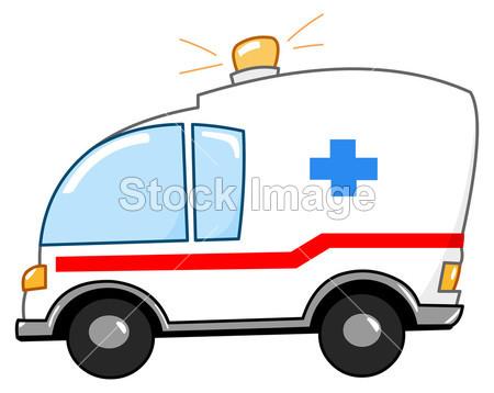 救护车卡通