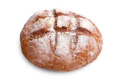 圆的美食上孤立的面包美味黑麦图片素材(白色大挑战图片图片