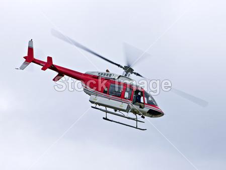 救援直升机摄影图片下载