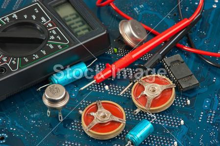 蓝图 板 业务    芯片 电路 特写镜头 组件 建设 承包商 划分