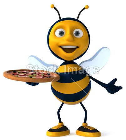 > 卡通蜜蜂