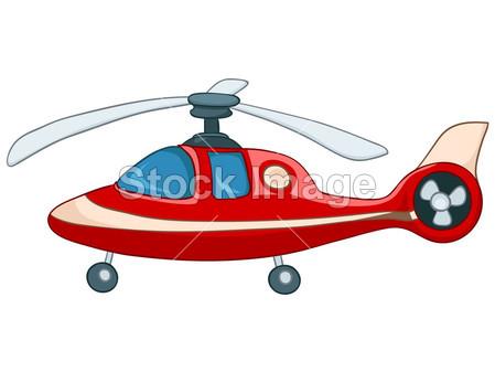 卡通直升机摄影图片下载