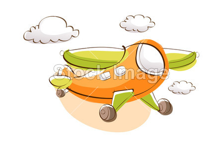 卡通飞机摄影图片下载