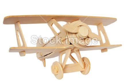 木材飞机手工制作图片
