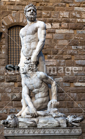 Hercules and Cacus by Bandinelli (1533)图片素