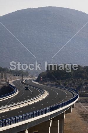 高架桥哦公路 a1, 克罗地亚摄影图片下载