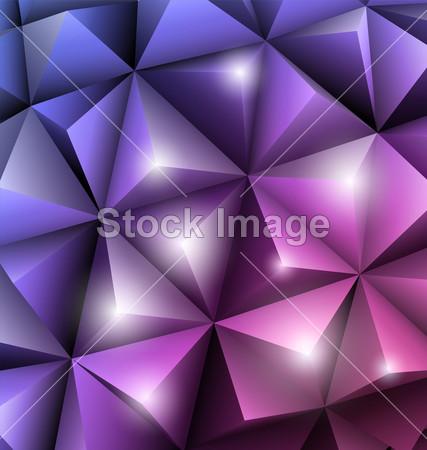 现代的 网络 模式 粉红色的 金字塔 复古 雕塑 形状 尖锐的 表面 三角