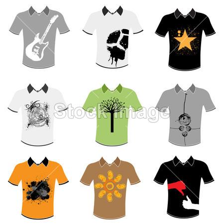 T 恤衫设计方案集图片素材(图片编号:5073398