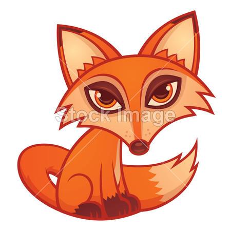 两只可爱的狐狸集邮册