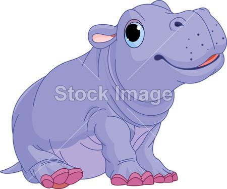 艺术 剪贴画 漫画 可爱的 脂肪 动物群 友好的 有趣的 有趣的 快乐 头