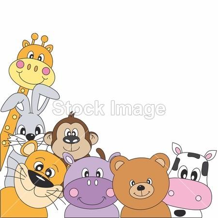 动物的明信片设计图_动物的明信片设计图分享展示