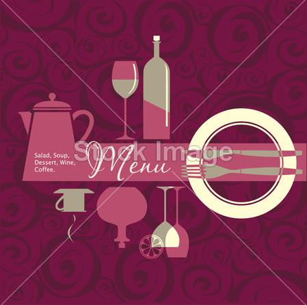 > 餐厅, 咖啡厅, 酒吧, 咖啡屋的菜单