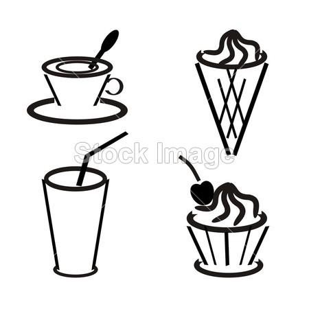 冰淇淋简笔画图片大全