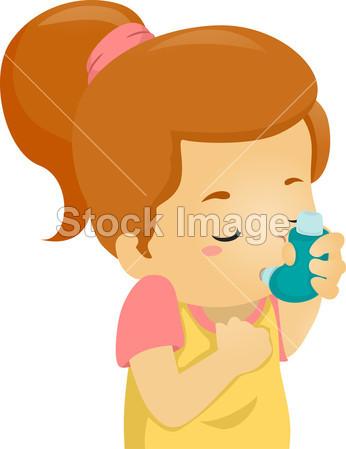 > 哮喘的女孩