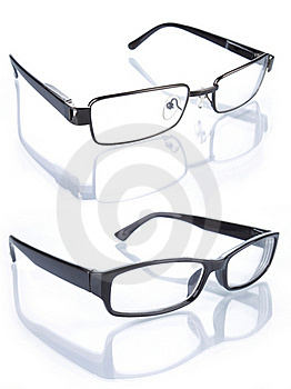 eye glasses on line  eye glasses isolated